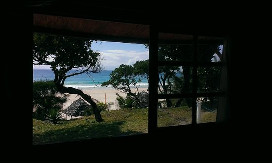 Riake Resort & Villa: The view from the main window