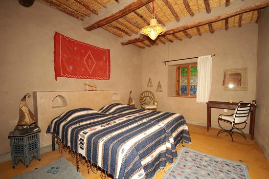 Dar Lorkam: Our traditional built and decorated room.