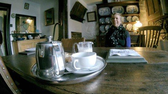 "Pen-y-Ceunant Isaf Tea House : ""Here's your tea"""