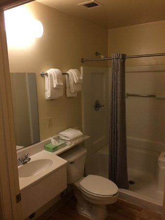 Extended Stay America - Chesapeake - Churchland Blvd.: Nice shower !