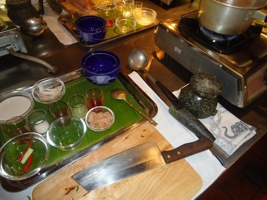 Blue Elephant Phuket : Cook your own food