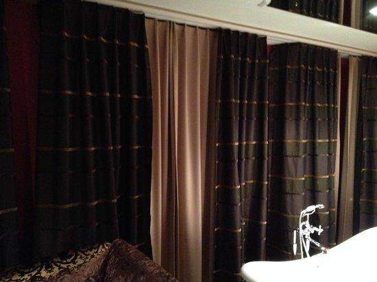 Hotel Krebs: Déco de la chambre