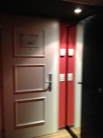 Hotel Krebs: Hall d'entrée
