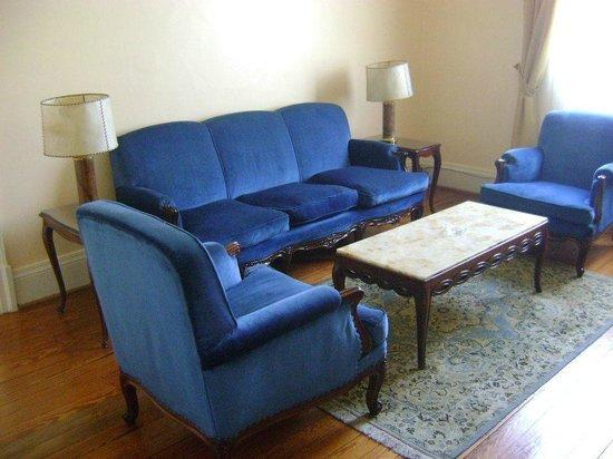 Gran Hotel Bolivar: Sala da suíte casal