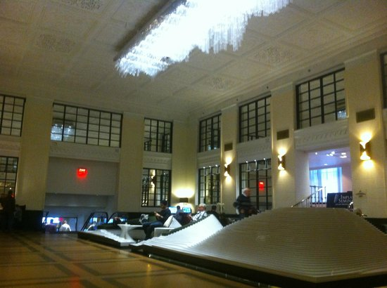 updated modern lobby picture of stewart hotel new york city