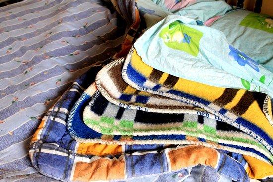 Hostal Compania de Jesus : cobertores