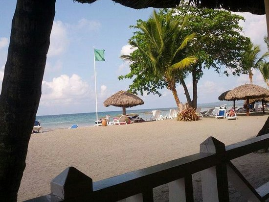 Grand Bahia Principe San Juan : Vista desde el comedor