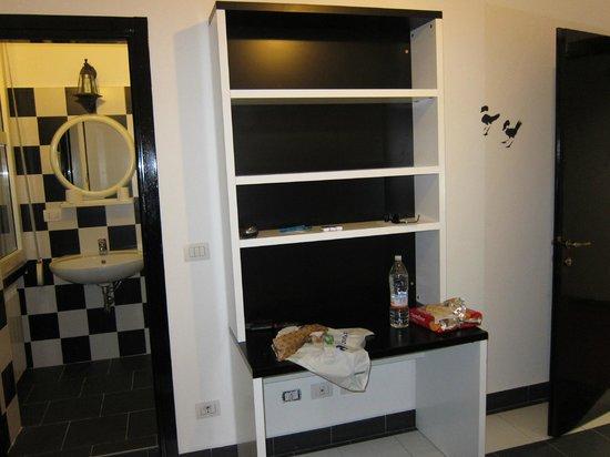 New Generation Hostel Urban Brera: Трехместный номер на 3-ем этаже