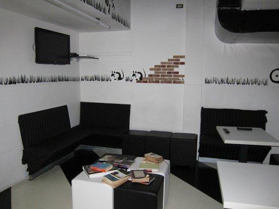 New Generation Hostel Urban Brera: Библиотека - комната отдыха