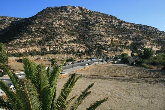 Matala Bay Hotel: Aussicht vom Balkon