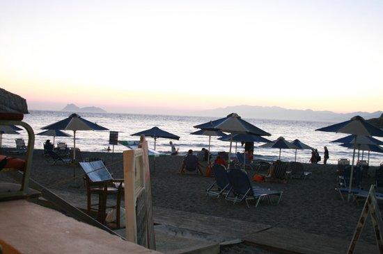 Matala Bay Hotel: Strand matala