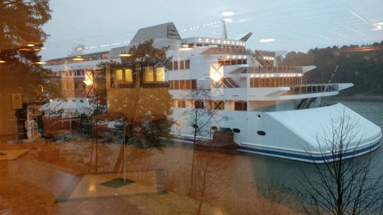 The Naantali Spa: Sunborn Yacht integrato nell'hotel