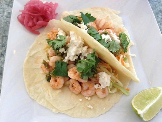 Atlantica: shrimp tacos