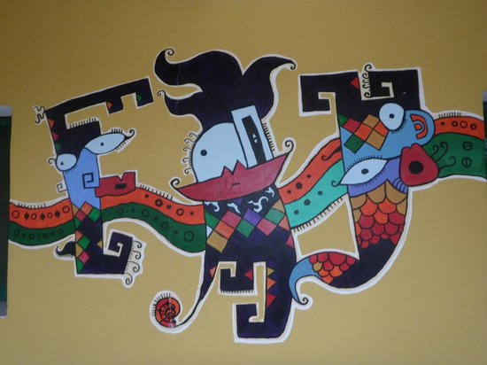 Hostel Lo de Chichi: Mural