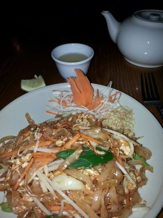 Thai Venue: Pad Thai noodles from the fixed price two course menu.
