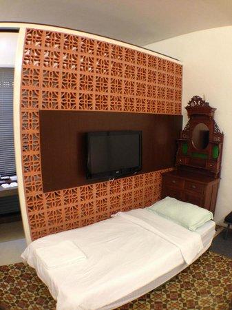 Courtyard @ Heeren Boutique Hotel : Deluxe G6 with extra bed