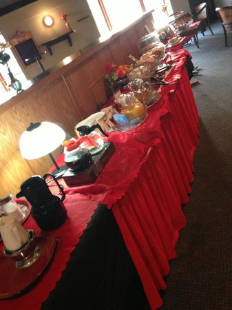 Howard Johnson Cornwall: Breakfast Buffet