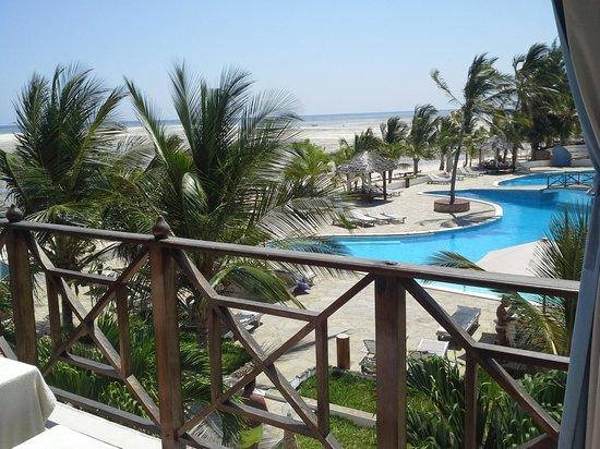 Clubviaggi Resort Twiga Beach & SPA : ecco la vista dal balcone della stanza