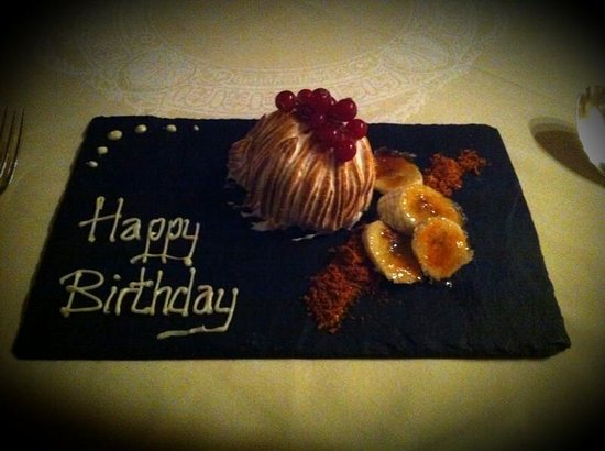 Hempstead House Hotel and Spa: another special touch from kitchen staff