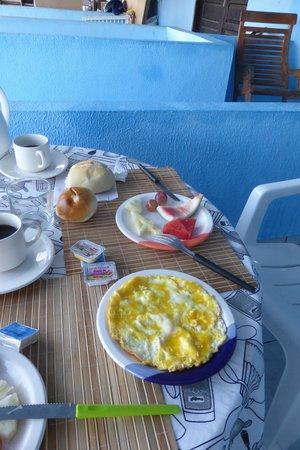 Joab's House: Omelett und Croque Monsieur gabs auch noch ....