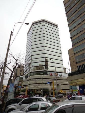 Estelar Miraflores Hotel: Здание отеля