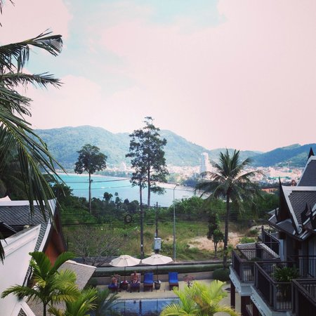 Baan Yin Dee Boutique Resort : View from Baan Yin Dee hotel room