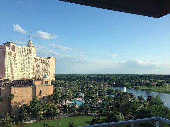 The Ritz-Carlton Orlando, Grande Lakes : view from room, nice!