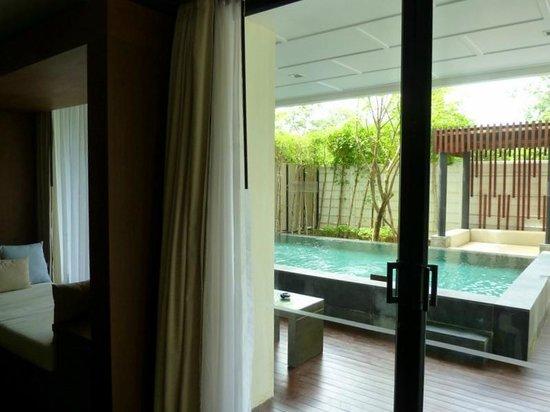 Cape Nidhra Hotel: Личный бассейн