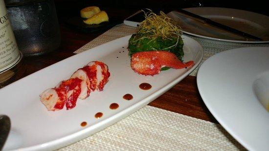 Le Royal Monceau-Raffles Paris : Salada de Lagosta com Espinafre e Trufas - La Cuisine