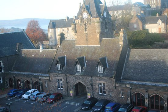 The Stirling Highland Hotel: Desde el Telescopio