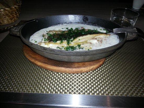 Les Cocottes de Christian Constant: risoto com filé de peixe