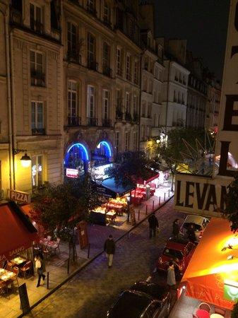 Hotel du Levant : A Classic Paris street view