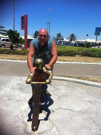 Joalpa Hotel Cabo Frio: praia