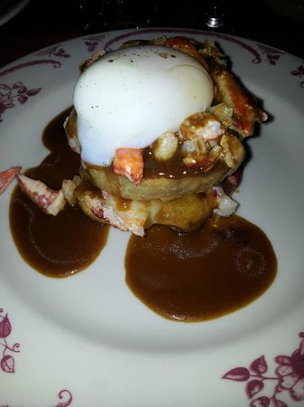 Le Bremner : Hot lobster sandwich with 63 degree egg
