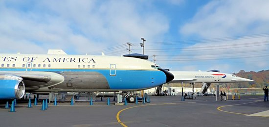 The Museum of Flight : Air Force One y Concorde