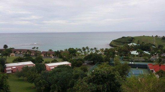 The Buccaneer St Croix: View overlooking the resort and Mermaid Beach
