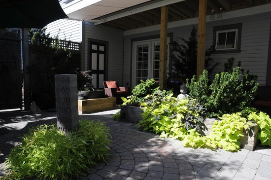 Carpe Diem Guesthouse & Spa: Innenhof
