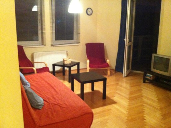 InnerCity Apartments : Sala do apartamento