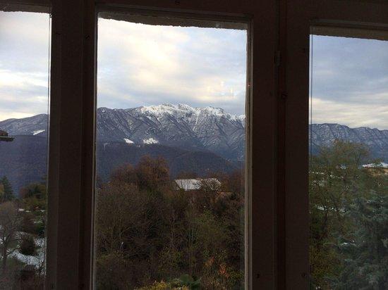 Hotel Villa Carona: Aussicht aus Zimmer 33