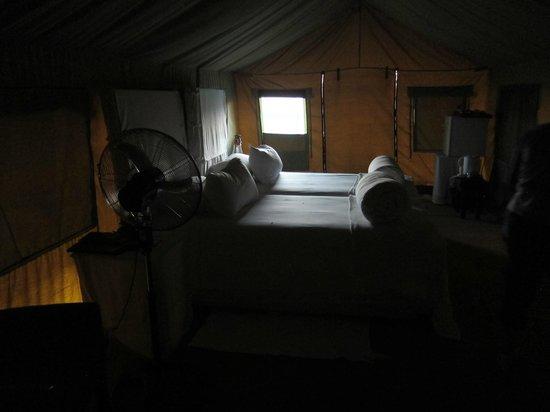Eagle Tented Lodge & Spa: Prévoir de l'éclairage