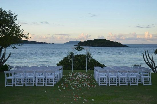 Caneel Bay Resort : Wedding Setup