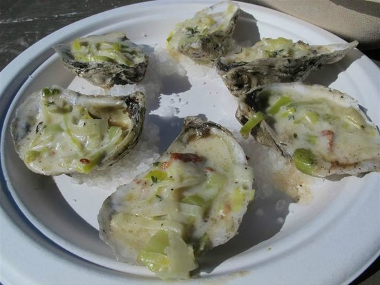 The Jolly Oyster: Jolly Baked oysters (recommended!)