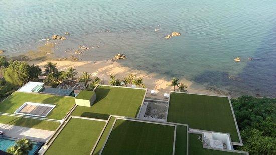 Cape Dara Resort: private beach