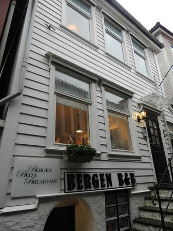 Bergen Apartments: From the street