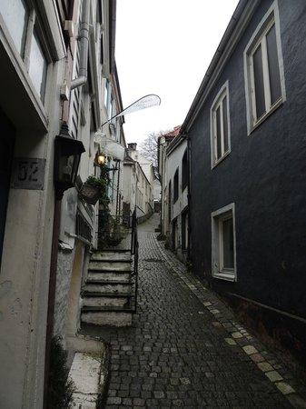 Bergen Apartments: Street