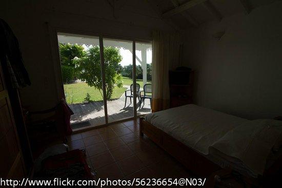 Hostellerie des Chateaux: La chambre avec vue sur le parc