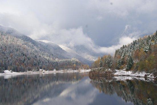 Auberge du Mehrbachel: le Lac Kurt wildenstein
