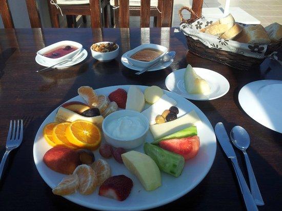Courtyard : Breakfast