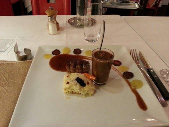 Hotel de France : Porzioncine