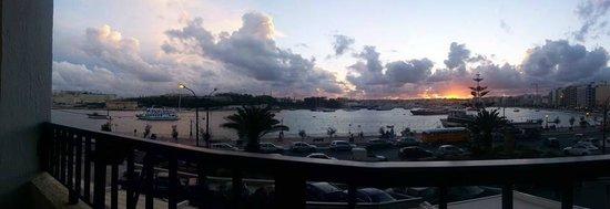 Sliema Marina Hotel: panoramic